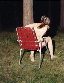 Annika von Hausswolff: Varje rörelse bär på sin motsats (2002), C-print, 152 x  120 cm Samling Magasin 3 Stockholm Konsthall
