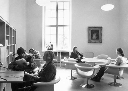 Turun musiikkikirjasto 1970-luvulla