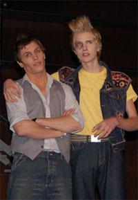 Romeo ja Benvolio (Pekka Hiltunen ja Jussi Puukka)