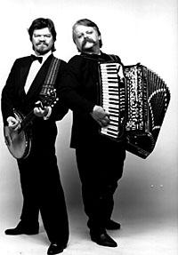 M. A. Numminen ja Pedro Hietanen