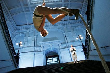 Circo Aereo & Rinneradio: Fritt Fall - Kuva: Heli Sorjonen
